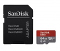 SanDisk Ultra microSDXC 64 GB 100 MB/s A1 Class 10 UHS-I, Android, Adaptér