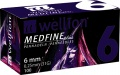Jehly WELLION MEDFINE PLUS 31Gx6mm 100ks